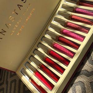 12pcs Anastasia Beverly Hills Matte Lipgloss